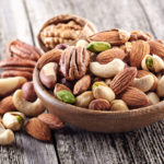 Eating nuts can lower and maintain Hypertension, Diabetes, Heart problems, and many more