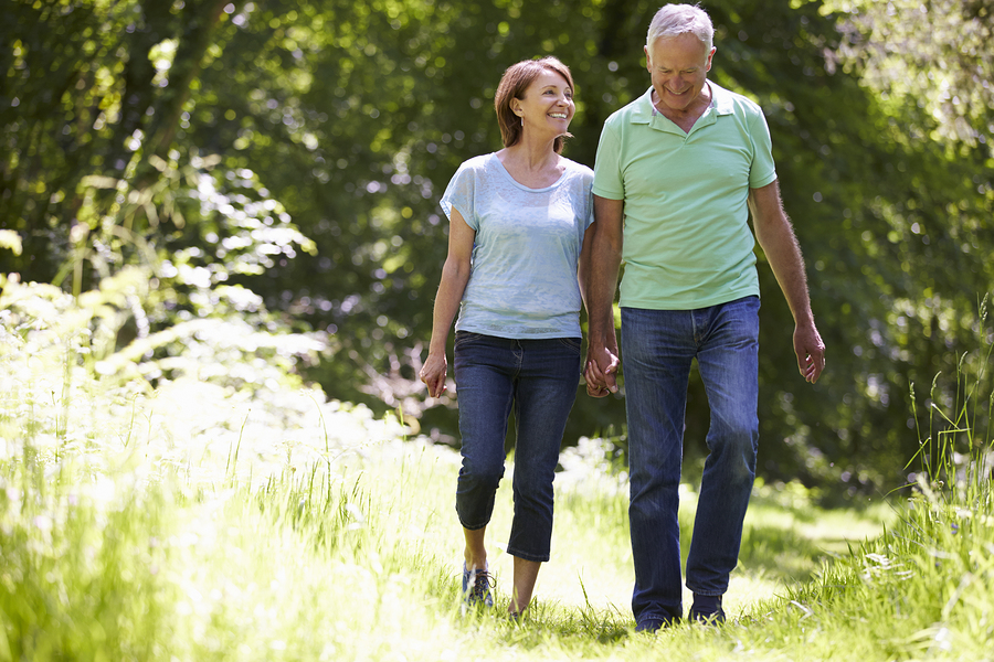 Walking for 30 minutes lowers Blood Pressure
