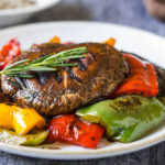 Healthy Ginger Marinated Grilled Portobello Mushrooms Recipe